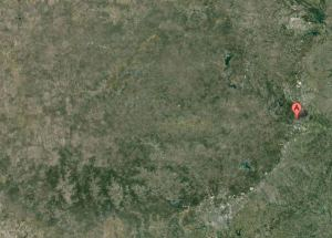 google map of the hill country